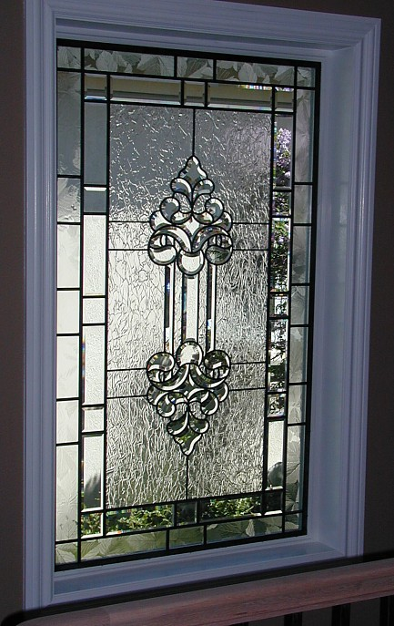 Leaded glass designs for windows the for Fancy window design