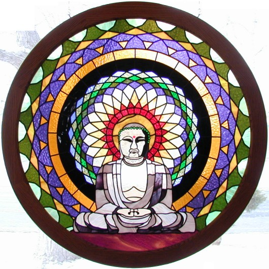 buddha art,buddha stained glass,buddhist art,buddhist stained glass,buddhism art