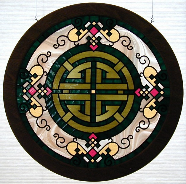 chinese stained glass