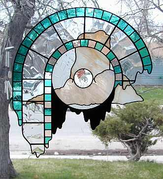 Odd Shaped Stained Glass