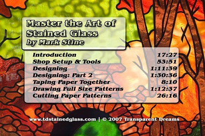 stained glass class,stained glass instruction,stained glass dvd,stained glass video,how to make stained glass,making stained glass,learn stained glass,how to make stained glass